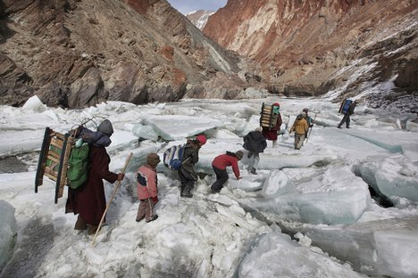 children-going-to-school-around-the-world-Zanskar, Indian Himalayas