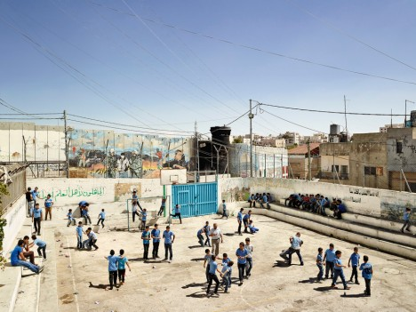 Aida Boys School, Bethlehem, West Bank